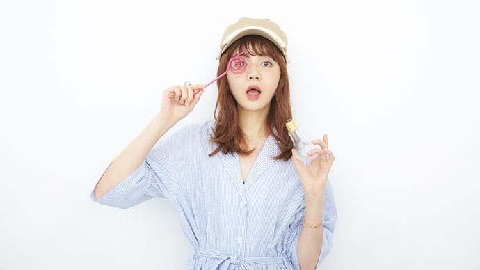 人気モデル村田倫子が話題の電球ソーダづくりに挑戦!