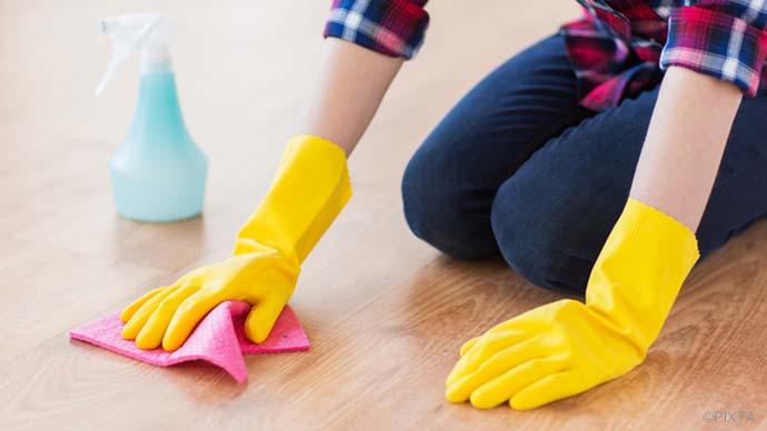 大掃除前に要チェック!雑巾がけの効果的な方法とは?