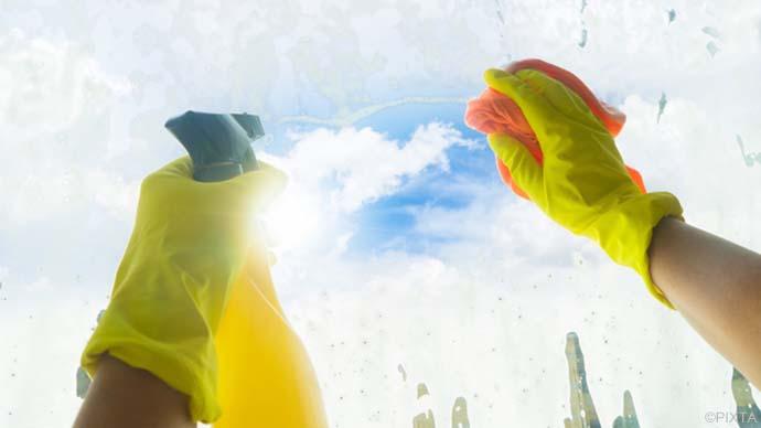 賢い掃除術!窓のサッシについたカビを手軽に取るワザ