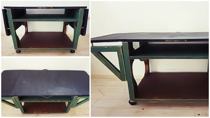 【DIY】収納もできる!折りたたみ式テーブルを作りました