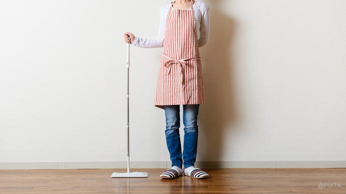 家をもっときれいにする床掃除術【クッションフロア編】