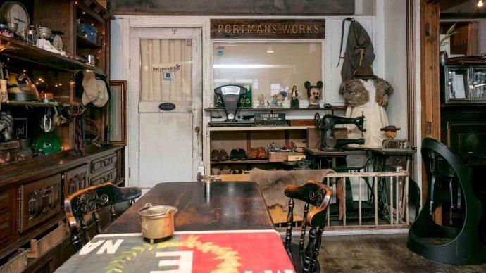 """ポートマンズカフェが教える""""アンティーク風カフェインテリア"""" 【カフェをDIYで作りました Vol.1】<後編>"""