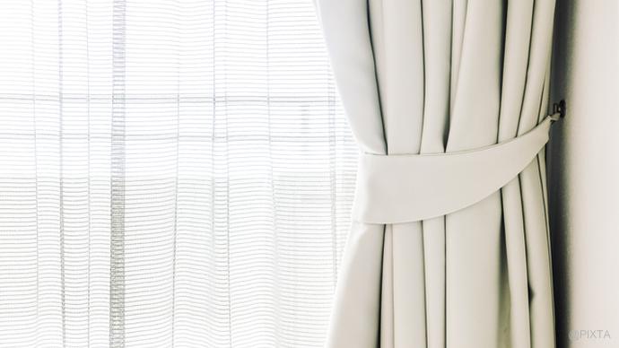 意外と汚れが!カーテンの洗濯のコツ|洗濯の基本