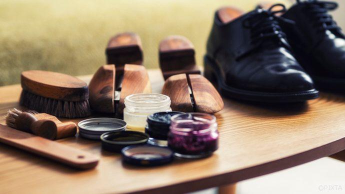 シワ 入れ 革靴