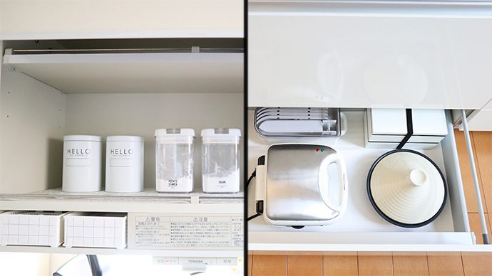 【すっきり暮らす】キッチンの収納テクニック